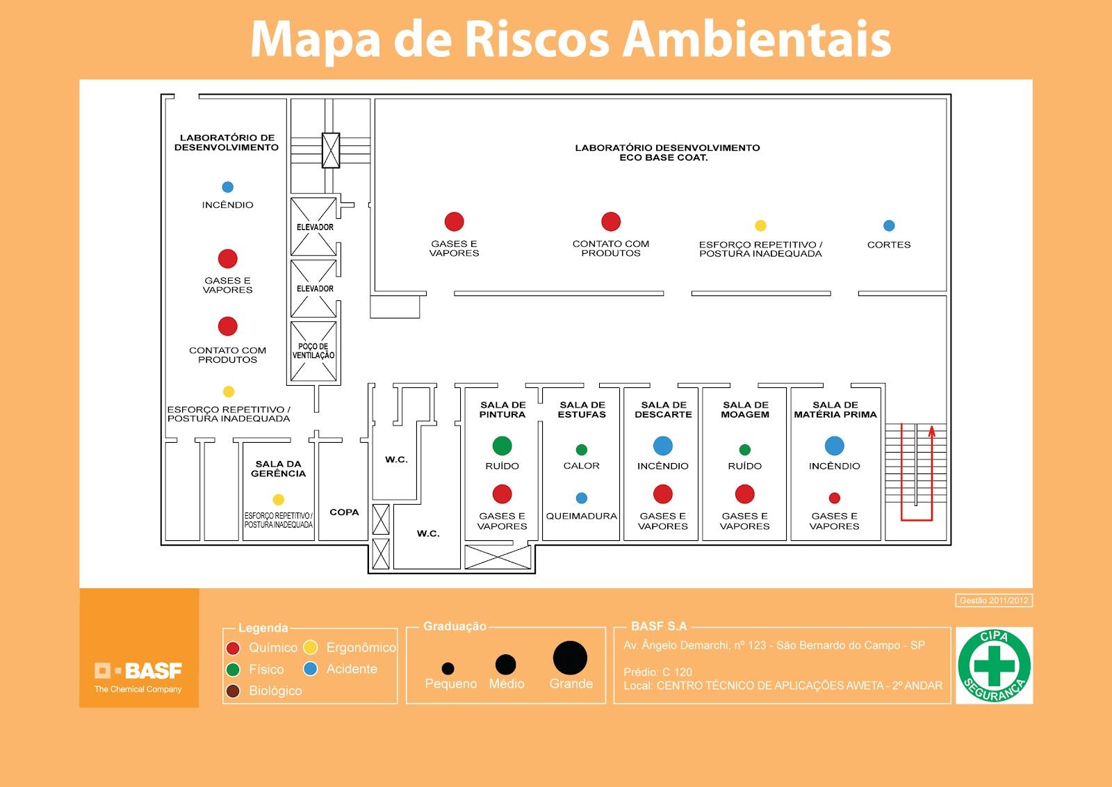 Mapas De Riscos Sa De E Seguran A Do Trabalho Rural