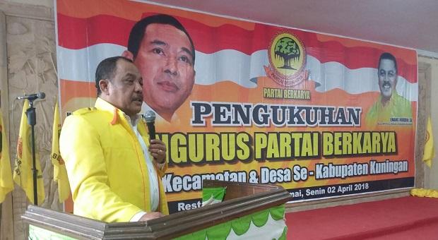 DPD Partai Berkarya Kabupaten Kuningan Dikukuhkan