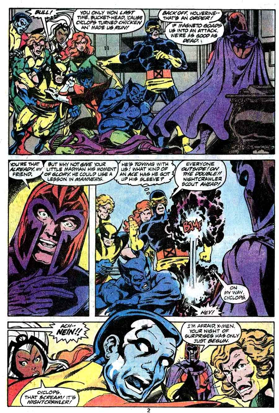 X-men v1 #112 marvel comic book page art by John Byrne