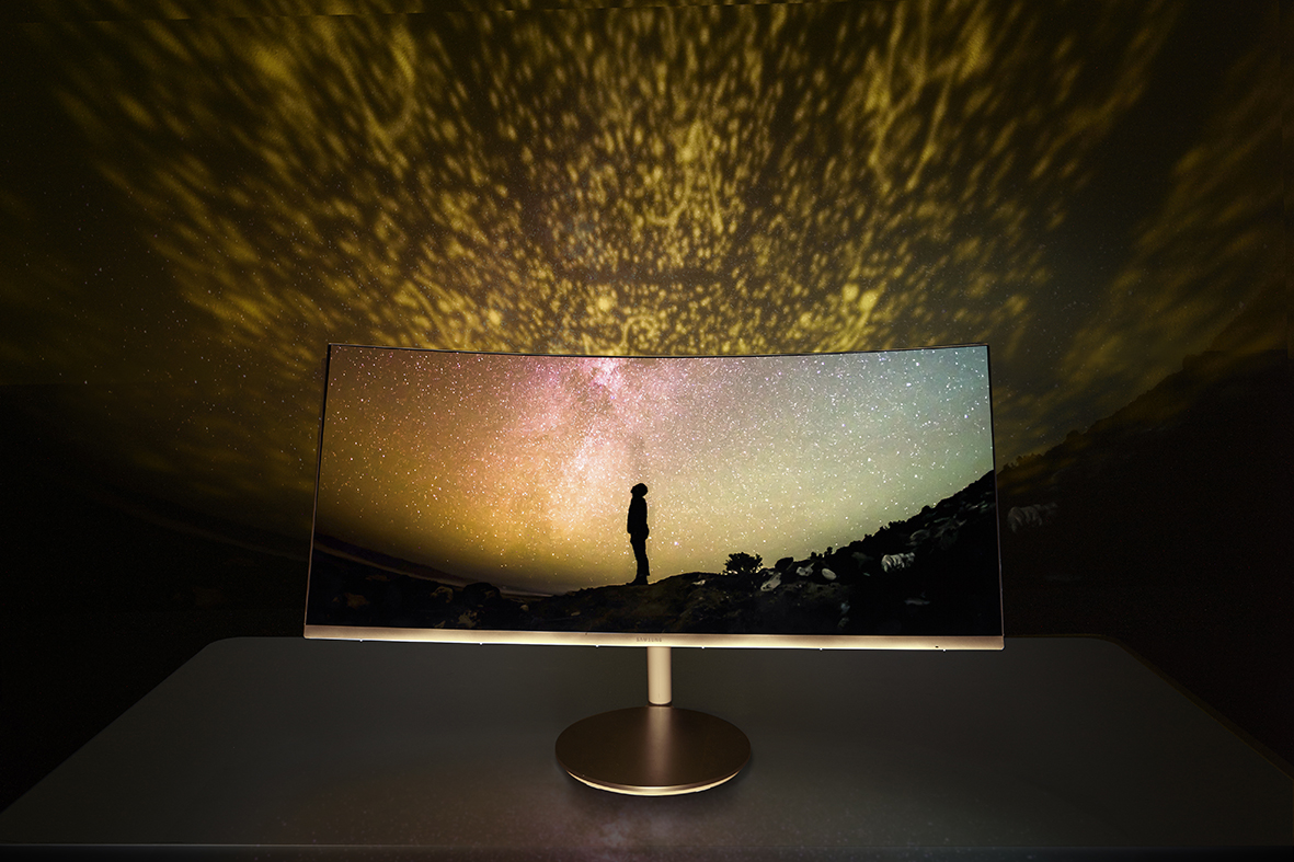Samsung Quantum Dot Curved Monitor advantages
