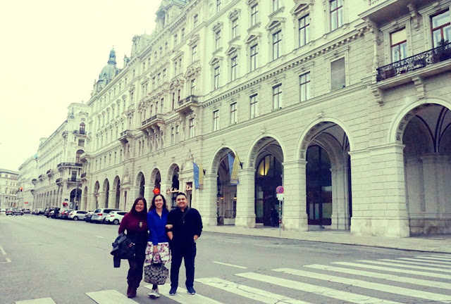 Tourists in Vienna!