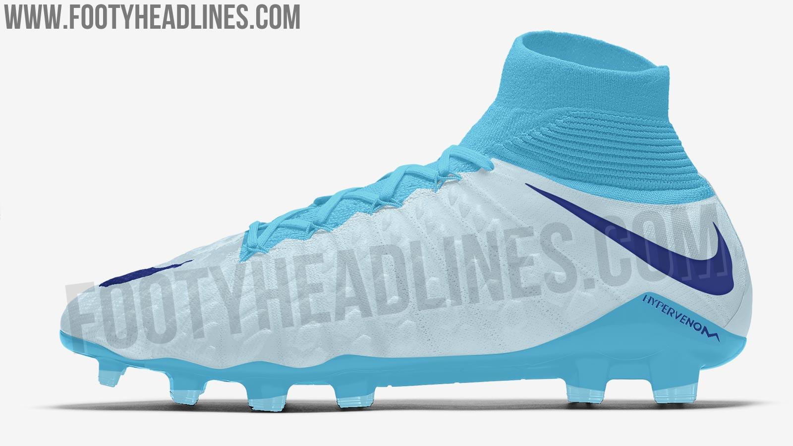 e9f22923fb21 Glacier Blue  Nike Hypervenom Phantom III 2018 Boots Leaked