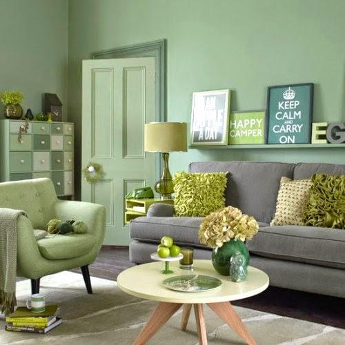 Deco verde que te quiero verde decoraci n for Tonos de grises para pintar paredes