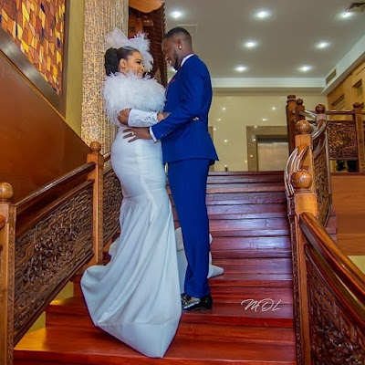 Okiki Afolayan and Abimbola Ogunnowo wedding photos
