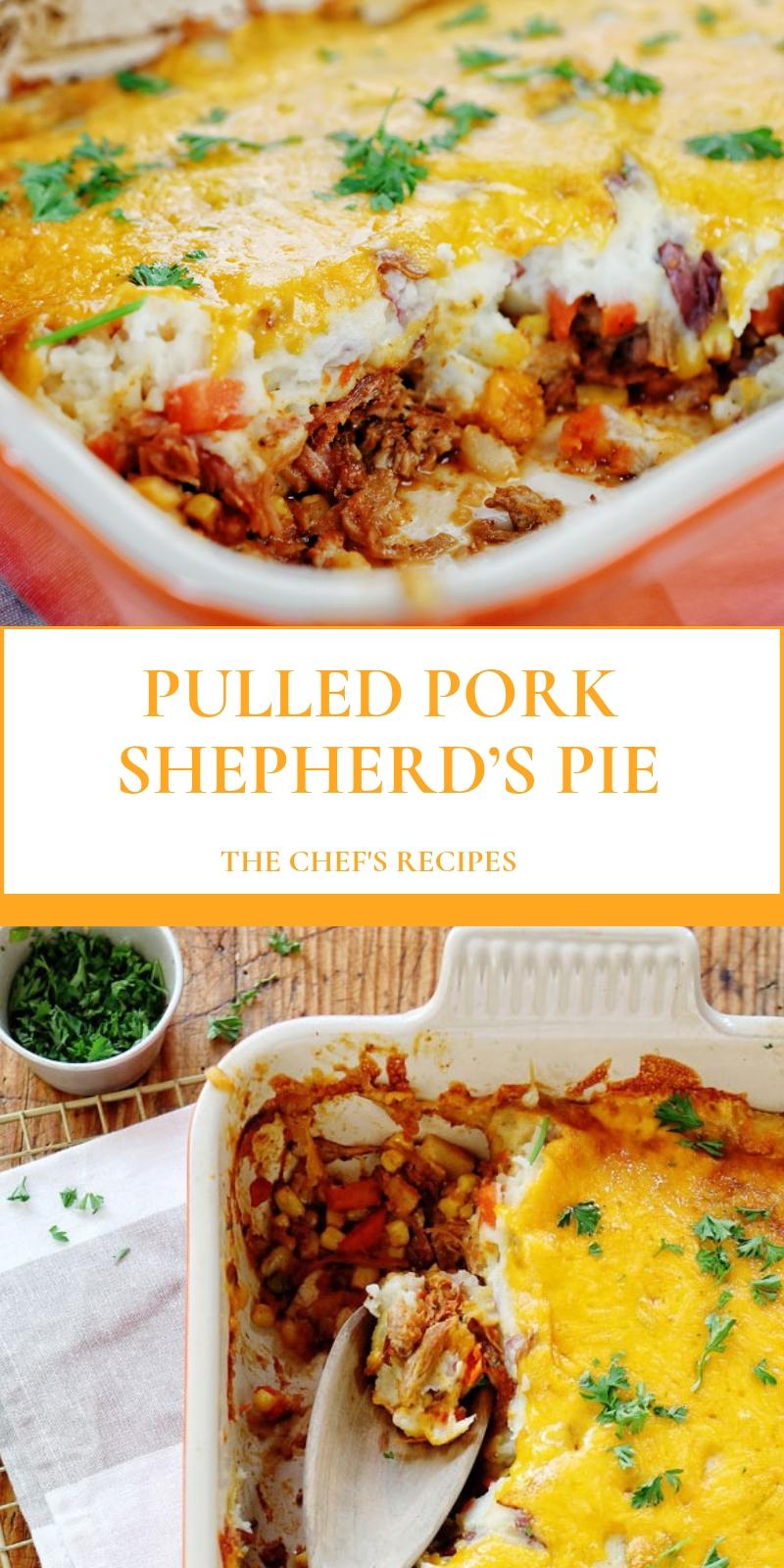 PULLED PORK SHEPHERD'S PIE
