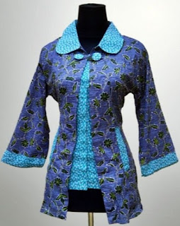 Model Baju Batik Guru Berhijab