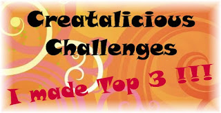 Top 3 at Creataliciuos Challenge