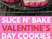 Valentine's Day Slice N' Bake Cookies