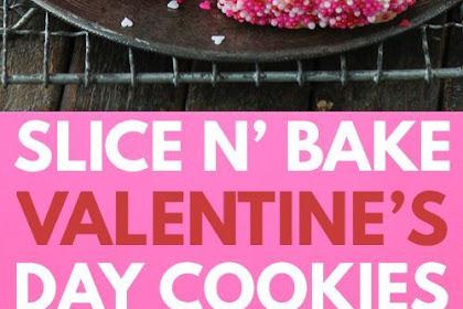 Valentine's Day Slice N' Bake Cookies