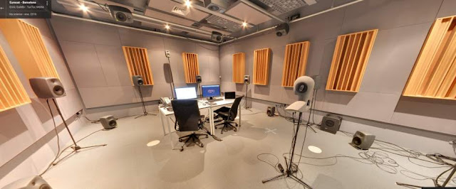 Estudio con sonido en 3D en Barcelona