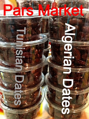 Algerian and Tunisian Deglet Nour Dates at Pars Market in Howard County Columbia Maryland 21045