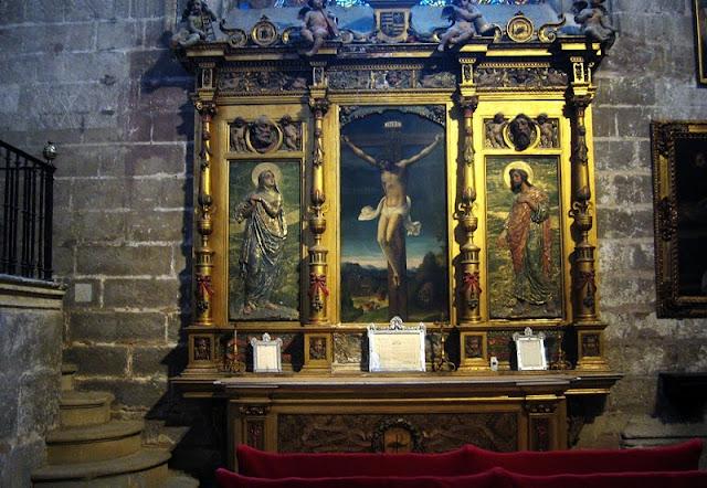 Capela da Santa Ana na Catedral de Granada