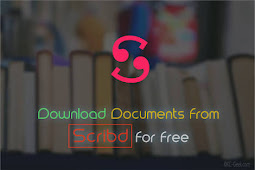 6 Cara  Mudah Download File Di Scribd Gratis Tanpa Login Terbaru