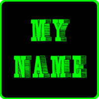 3D ဒီဇုိင္းမ်ားစြာ ကာလာေရာင္စုံမ်ားနဲ႕ Wallpaper မွာကုိယ္႔နာမည္ေလးေရးျပီး အလွေတြနဲ႕ အသုံးျပဳႏုိင္မယ္ My Name 3D Live Wallpaper v1.3 Apk