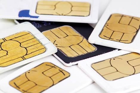 Sim card kartu nomor hp