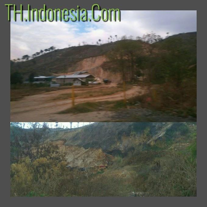 Galian Di Dukuh Kincir Desa Wegil Merusak Jalan Dan Lingkungan