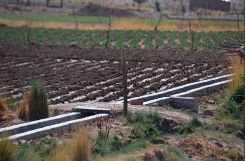 Gobierno entrega sistema de riego y represa a comunidades de Villazón
