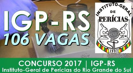 Apostila Concurso IGP-RS 2017