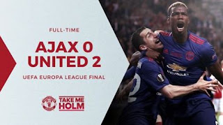 Video Cuplikan Gol Ajax Amsterdam vs Manchester United 0-2