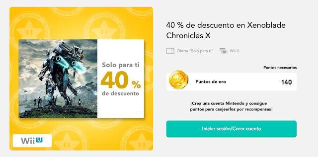 40% de descuento en las dos versiones de Xenoblade Chronicles 1