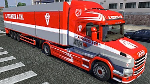 S.Verbeek trailer and skin for Scania T