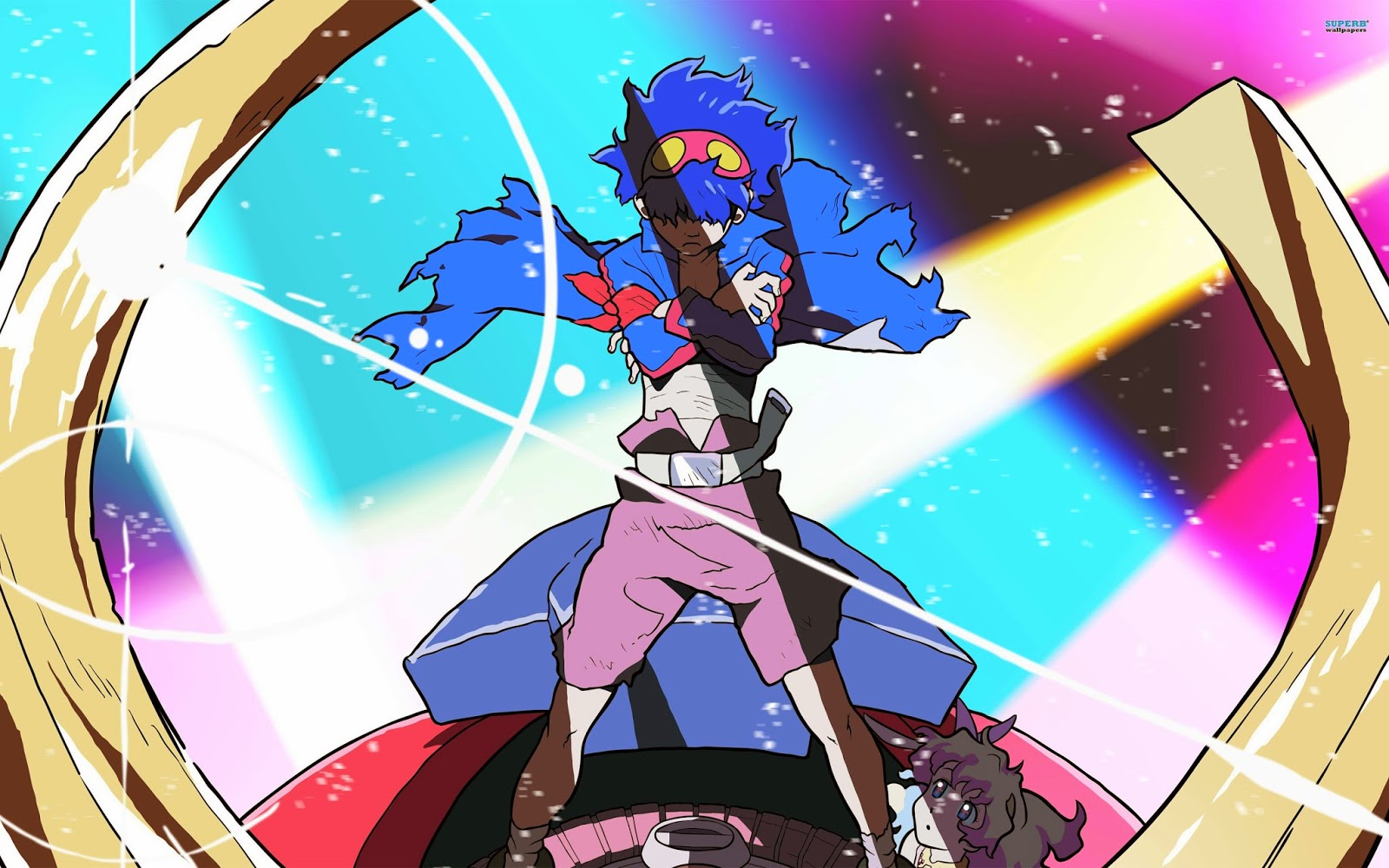 Dare to be stupid!: Tengen Toppa Gurren Lagann! ROW ROW ...