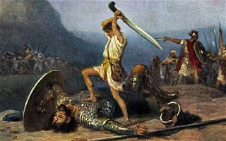 David kill Goliath