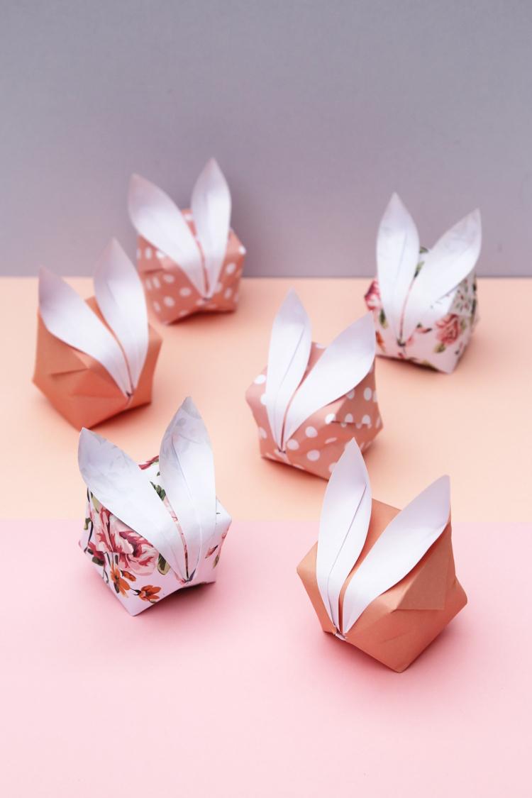 origami bunny rabbits � obsigen