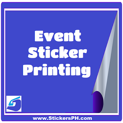 Event Sticker Printing Philippines