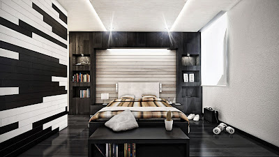 แบบห้องนอนโมเดิร์น