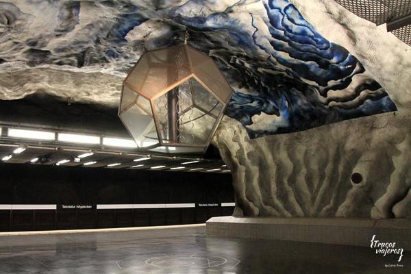 diseño tekniska hogskolan metro estocolmo