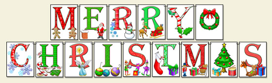 picture regarding Merry Christmas Letters Printable known as Flickers Xmas Situation: Issue #95 Extravagant Folds