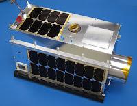 GHGSat's demonstration satellite, GHGSat-D. (Credit: GHGSat) Click to Enlarge.