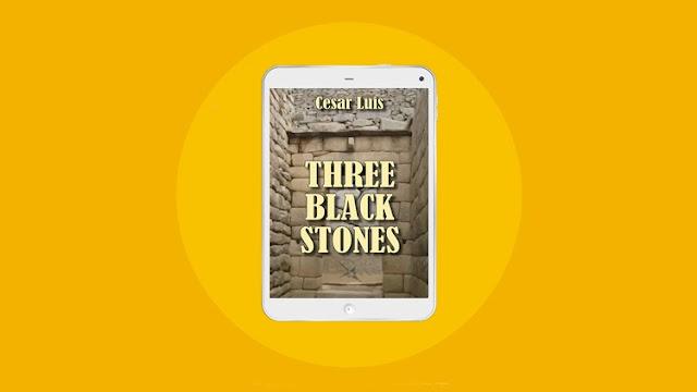 Cesar Luis lança versão em inglês de seu livro Pedras Negras