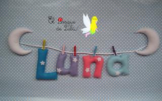 nombre-en-fieltro-Luna-decoración-infantil-name-banner-letras-colgantes-elbosquedelulu-hechoamanoparati-regalo-personalizado-detalle-nacimiento