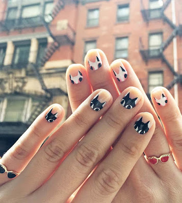 diy nail art, cat nails, halloween nails, diy projects, do it yourself projects, diy, diy crafts, diy craft ideas,