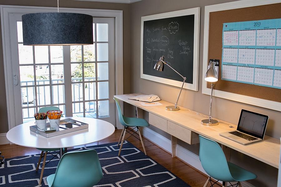 47 desain ruang kerja pribadi di rumah yang nyaman dan unik