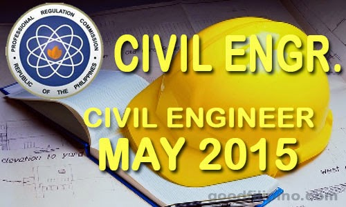 PRC FULL LIST: Civil Engineer Board Exam Results (May 2015)