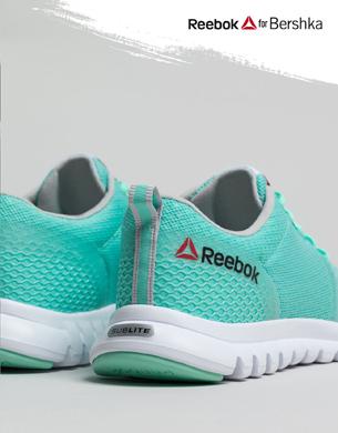 Reebok for Bershka deportivas color turquesa verano 2016