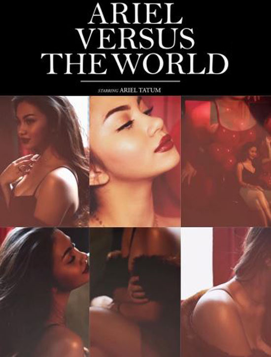 Foto Kolase Ariel Tatum Super Hot, Netizen Bilang Mirip Poster Film Porno