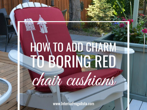 How To Add Charm To Boring Outdoor Cushions