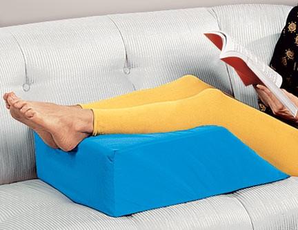 pernă din varicoză pe picioare