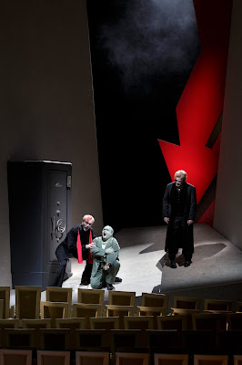 Wagner: The Ring - Semperoper, Dresden - Kurt Streit (Loge), Gerhard Siegel (Mime), Vitalij Kowaljow (Wotan) (Photo © Klaus Gigga)