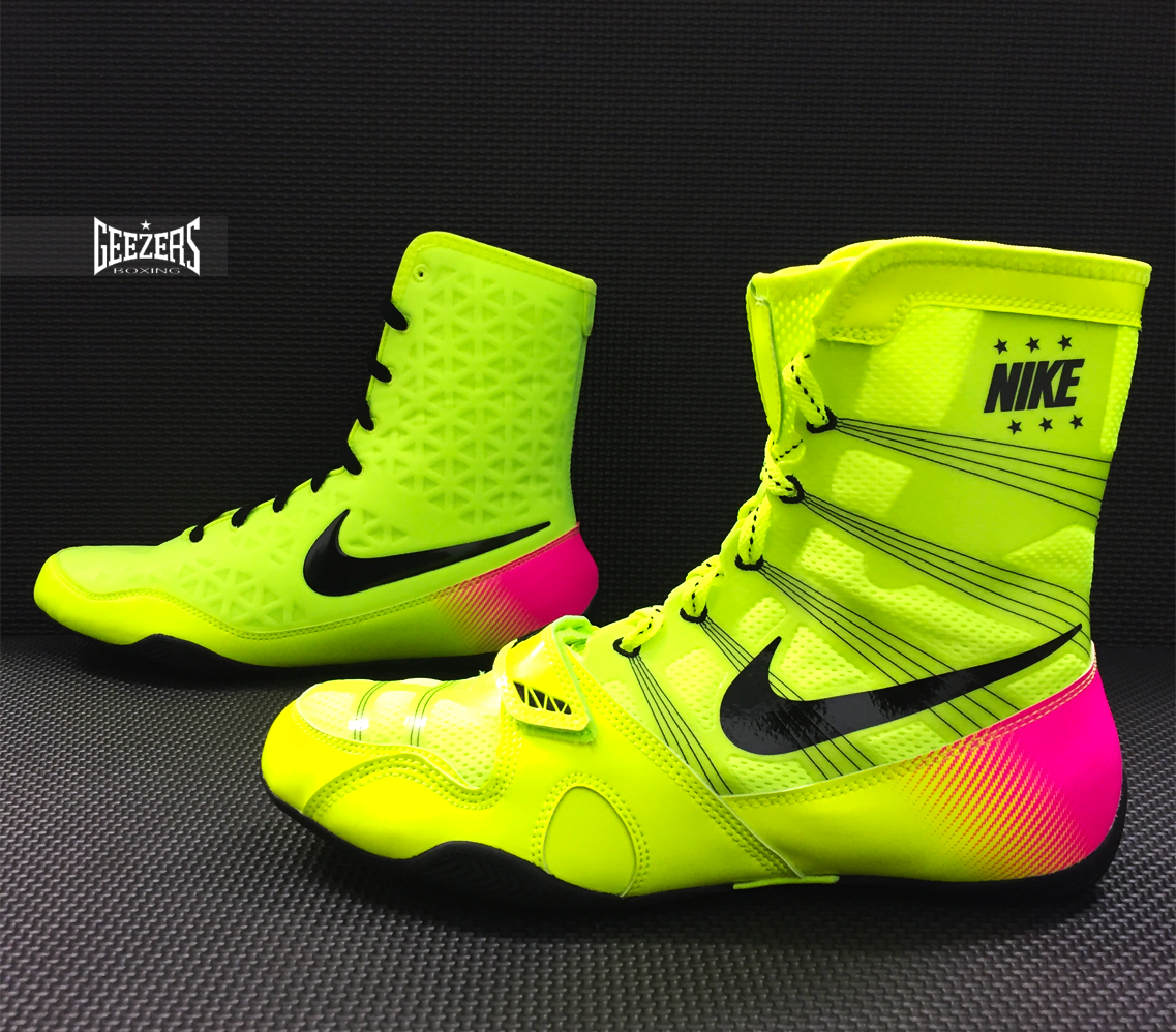 Nike High Top Boxing Shoes