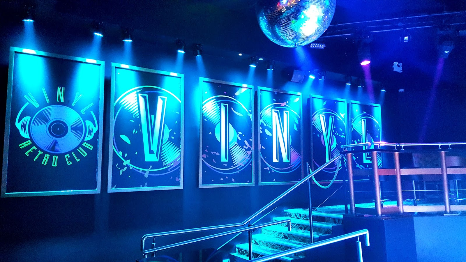 Vinyl Retro Club in Fiction Swansea Nightclub
