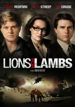 Lions For Lambs 2007 BRRip 300MB Hindi Dual Audio 480p Watch Online Full Movie Download bolly4u