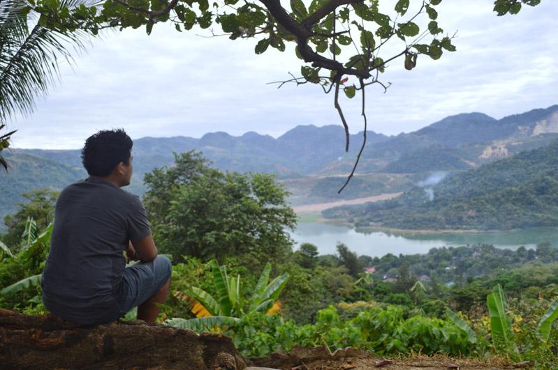Lake Mapanuepe View