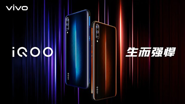 Vivo iQOO with Snapdragon 855 SoC, a three-rear camera officially launched in China