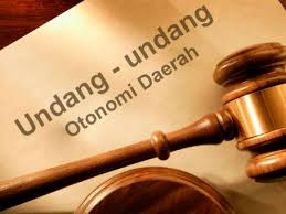 Kewenangan Daerah Berdasarkan UU No. 22 Tahun 1999