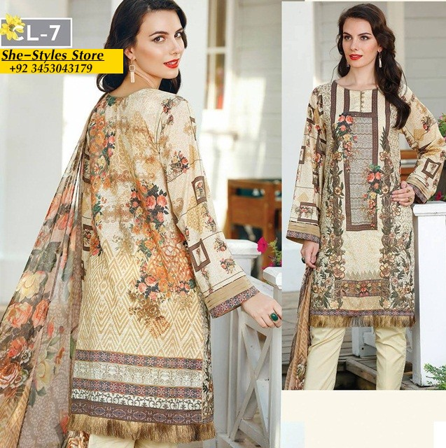 de97496345 This latest baroque lawn 2017 will give yourself a trendy style and diva  look this summer.